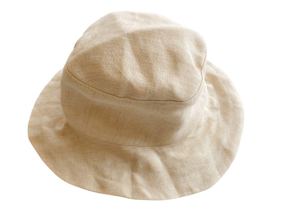 麻の服専門店A麻の帽子